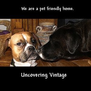 We are a pet friendly home